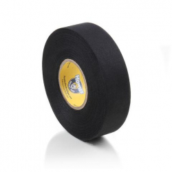 Лента хоккейная 24мм x 22,8м TSP Cloth Hockey Tape black 2732