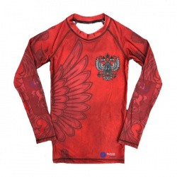 Рашгард Rusco Sport Red Herb MMA  детский